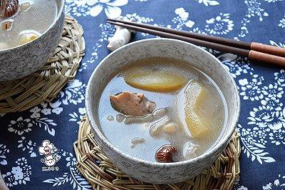 苹果银耳龙骨汤
