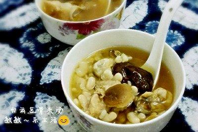 白云豆骨头汤
