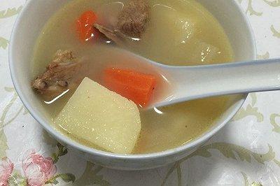 鸭肉火腿汤