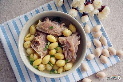 冬季暖身:老鸭白果汤
