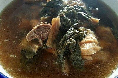 菜干猪骨下火汤