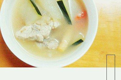 沙参玉竹冬瓜排骨汤