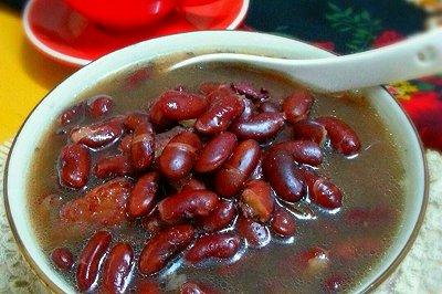 红腰豆煲猪骨汤