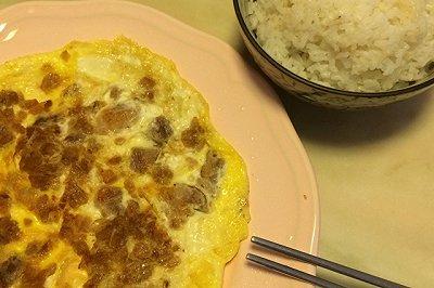 菜脯猪肉煎蛋