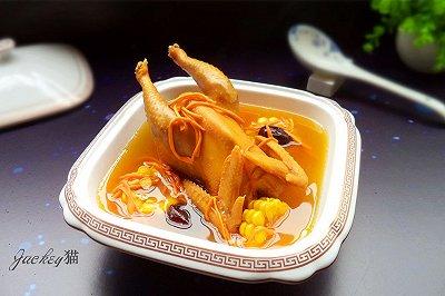 虫草花鲜鸡汤