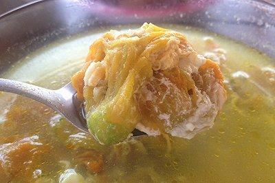 鸡蛋南瓜花汤