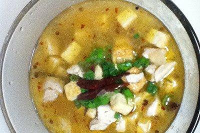 �鳅鱼豆腐汤