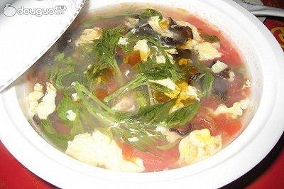 香椿鸡蛋汤