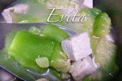 十棱瓜豆腐汤