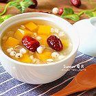 南瓜银耳薏仁汤