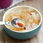 银耳桃胶皂角米汤