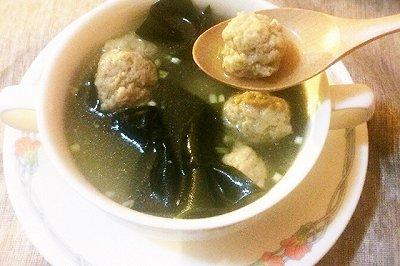 肉丸子海带汤