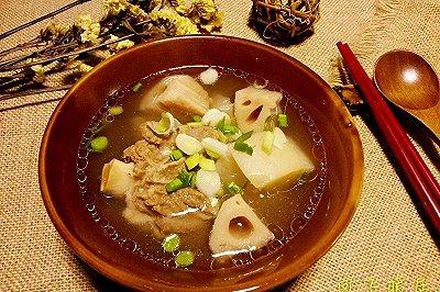 羊肉莲藕萝卜汤