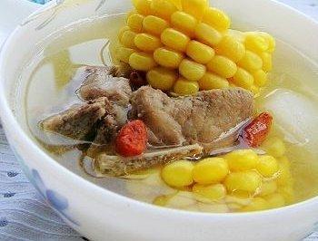 玉米萝卜排骨汤---秋