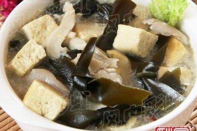 冬季的营养素汤:海带