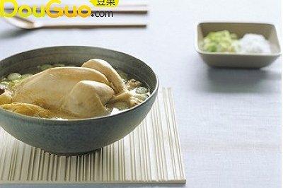 化痰健胃:柚子肉鲜鸡