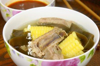 玉米海带排骨汤――营