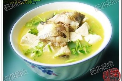 豆腐梭鱼汤