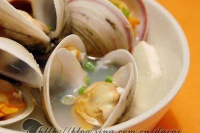 秋季养生――白蛤豆腐