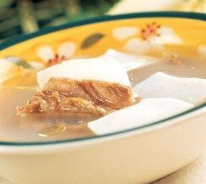 宝宝食谱之墨鱼排骨汤