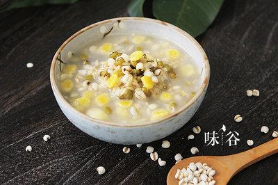 养生早餐:绿豆薏米燕