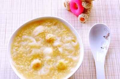 银耳莲子百合小米粥