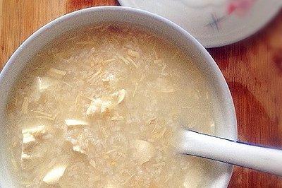 银鳕鱼豆腐粥