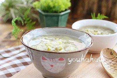 豆浆机版大米绿豆粥