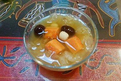 高压锅食谱:木瓜百合