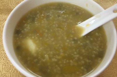 小米绿豆南瓜粥