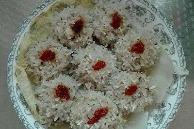 豆腐香菇藕糯米丸子