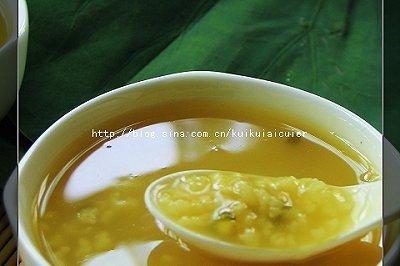 绿豆荷叶粥