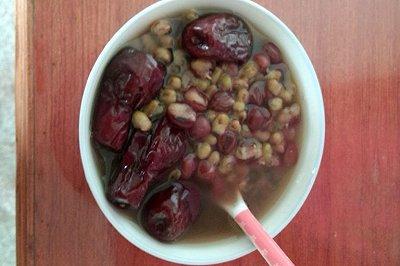 红豆绿豆红枣汤