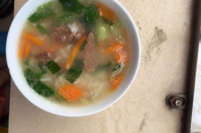 牛肉蔬菜粥