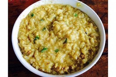 咖喱蛋花粥