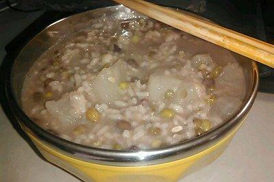 香瓜绿豆粥