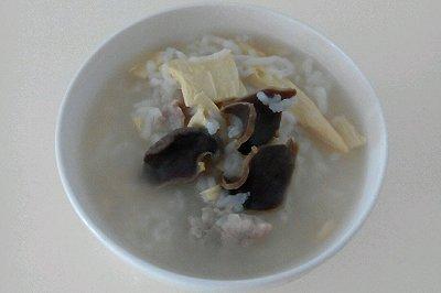 鸭胗瑶柱粥