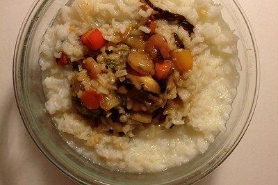 香菇蔬菜粥