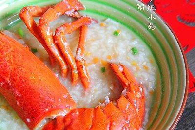 龙虾海鲜粥(压力锅版