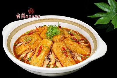 比肉好吃的河虾煲豆腐