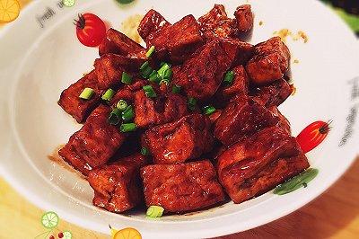 苏式卤汁豆腐干