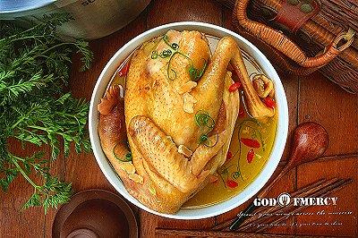 天麻核桃枸杞鸡汤