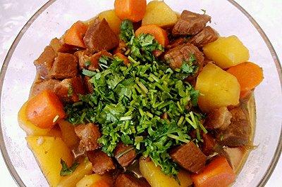 土豆炖牛肉(高压锅版
