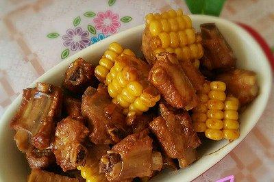 酱焖玉米排骨