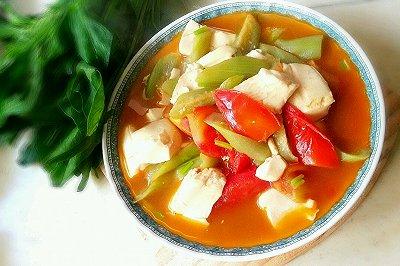 番茄丝瓜豆腐(夏日清