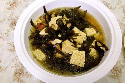 海带炖冻豆腐
