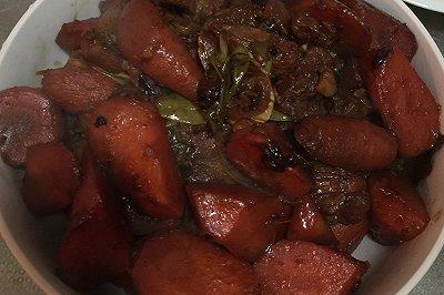 红烧羊肉胡萝卜(家常