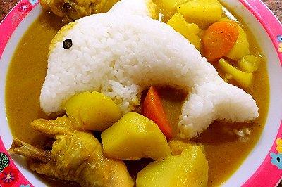 咖喱土豆炖鸡
