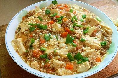 简单又美味的肉沫豆腐
