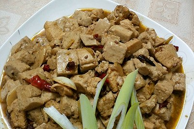 鸡胸肉炖豆腐